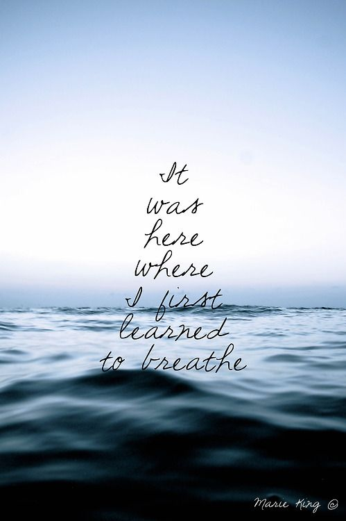 92 best images about Ocean, Wave, and Water Quotes on ...