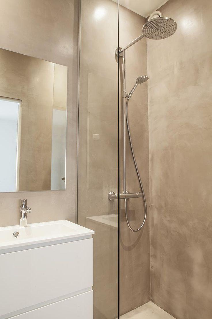 Inspiraatio: mikrosementti kylpyhuoneessa