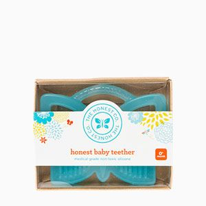 Teether   BPA Free Baby Teether   The Honest Company #FeatherYourNest