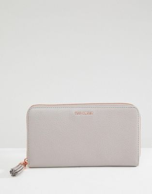 Shop Ted Baker leather zip purse with tassle at ASOS. Discover fashion  online. 223982148499e