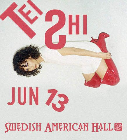 Win Tickets to Tei Shi at Swedish American Hall, June 13, 2017 on DoTheBay #DoTheBay
