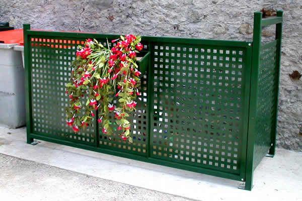 Cache Containers Et Poubelles Fabrication Et Distribution Cacher Les Poubelles Idees Jardin Amenagement Exterieur