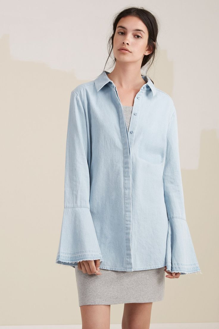 The Fifth Label - The Motel Shirt Washed Denim