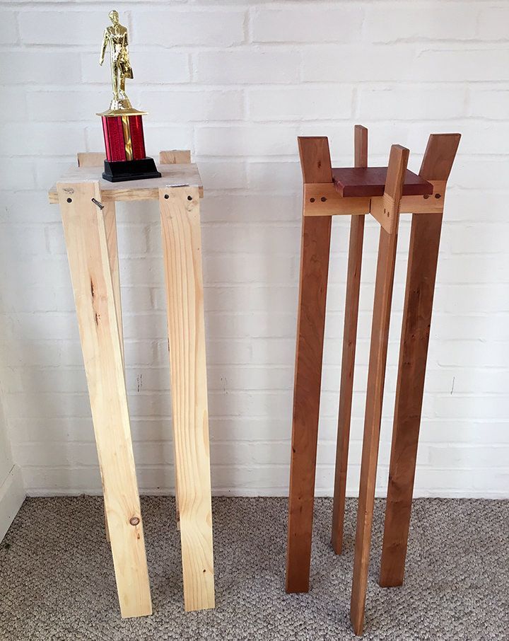 Michael Scott S Pine Nordic Cherry Table Handmade Crafts Howto