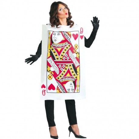 #Disfraz #Carta #Reina de #Corazones #Disfraces #baratos para tus fiestas de Carnaval. Entra en mercadisfraces y descubre los disfraces más baratos y originales.