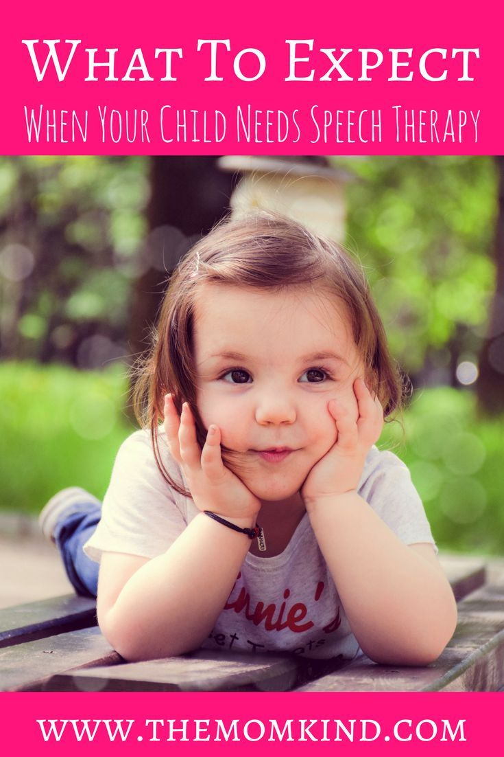 What To Expect When Your Child Needs Speech Therapy