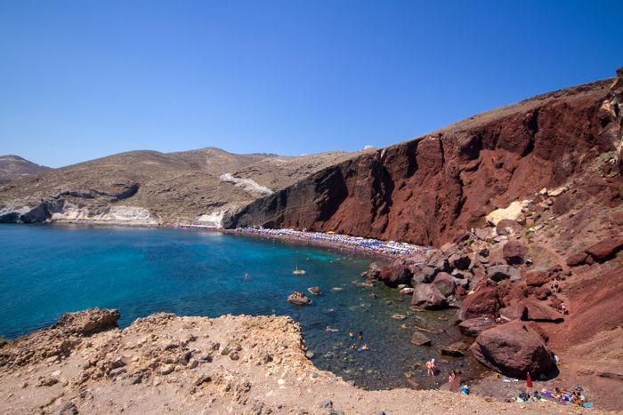 Red beach-Santorini island