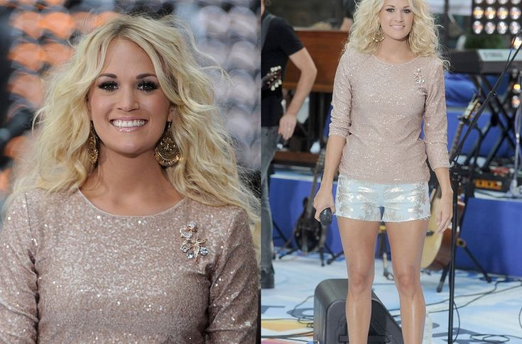 Carrie Underwood Legs Before And After