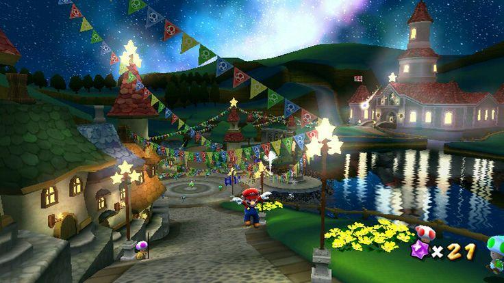 Mushroom Kingdom in Super Mario Galaxy