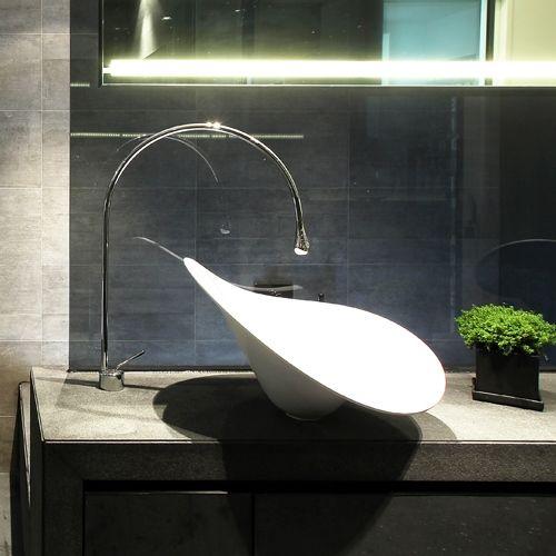 Gessi 'Goccia' basin mixer available through Retreat Design #tap #tapware…