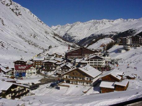 Obergurgl, ski resort. Austria