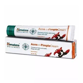 ขอแนะนำ  Himalaya Herbals Acne-n-Pimple Cream, 20g. ครีมแต้มสิว สิวอักเสบสิวผด  ราคาเพียง  248 บาท  เท่านั้น คุณสมบัติ มีดังนี้ ยาเเต้มสิวผดผื่นแดงเม็ดเล็กและรอยแดงสิว ช่วยรักษารอยแดงของสิว รอยบวมนูนแดงของสิวผดผื่นแดงเม็ดเล็ก ที่เพิ่งเริ่มเป็นหรือเป็นเรื้อรังมากนานสามารถแต้มบริเวณสิว&