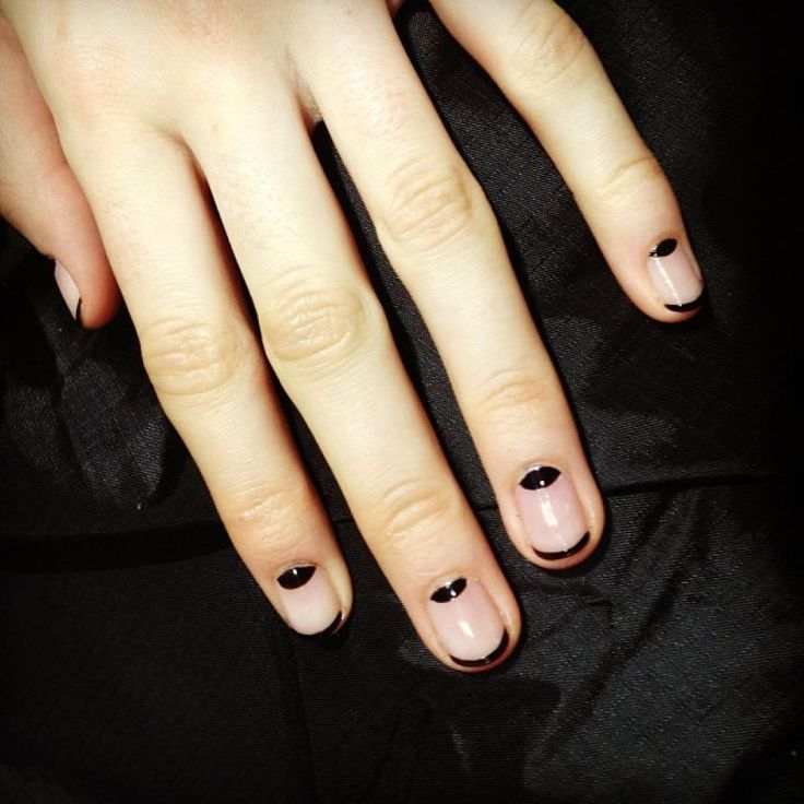 1000+ ideas about Moon Manicure on Pinterest | Manicures ...