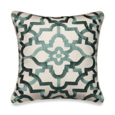 Tommy Bahama® Paradise Palm Medallion Square Toss Pillow - BedBathandBeyond.com
