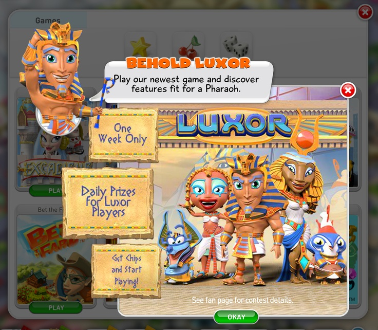 Welcome to Luxor! Click here to play now ----> http://myveg.as/mV-Pinterest <----