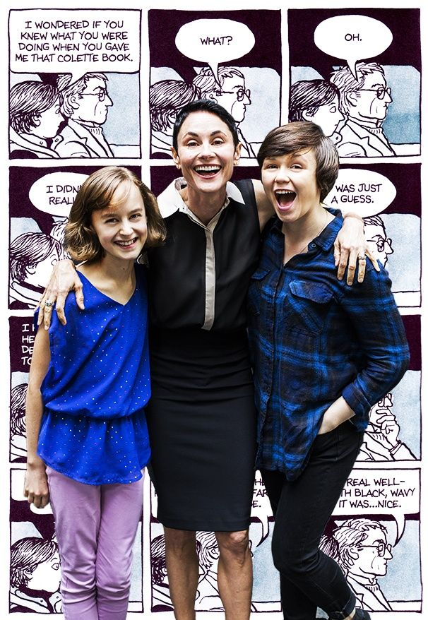Ask Alison! Tony-Nominated FUN HOME stars Beth Malone, Sydney Lucas & Emily Skeggs talk candy, cash & celebrities #pinoftheday