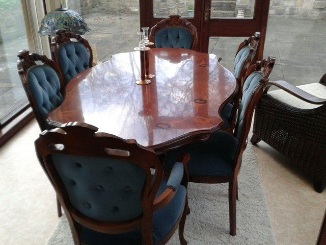 Dining Table With 6 Chairs For Sale In Cleckheaton West Yorkshire