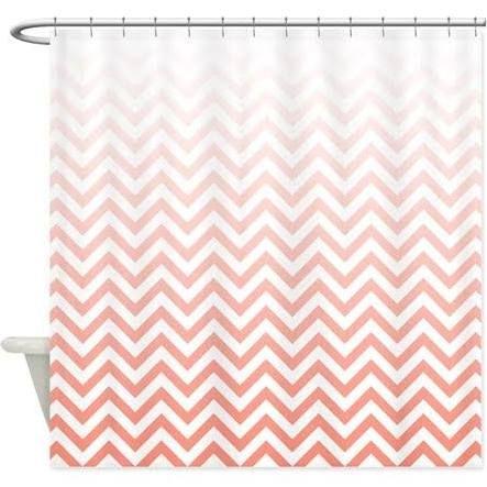 Best 25 Coral Shower Curtains Ideas On Pinterest