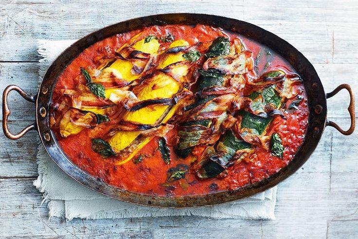 Jamie Oliver turns the humble zucchini into a Sicilian showstopper. The perfect pot of comfort.