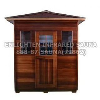 Check out our 4 person Sierra indoor/outdoor infrared sauna. For more information about this or any other sauna contact one of our knowledgeable sales professionals. #enlightensaunas #sauna #infraredsauna #indoorsauna #outdoorsauna