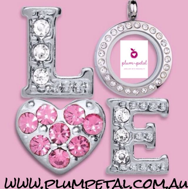 Jewels for your pendant #jewels #charms  www.plumpetal.com.au