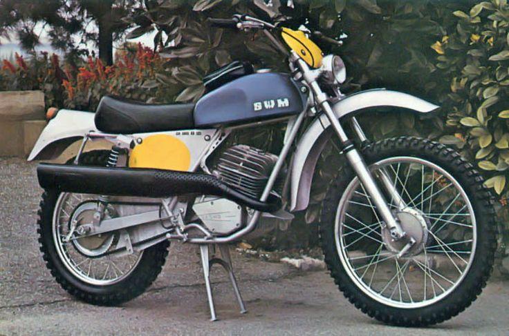 -SWM Six Days ER 125 ES 1974