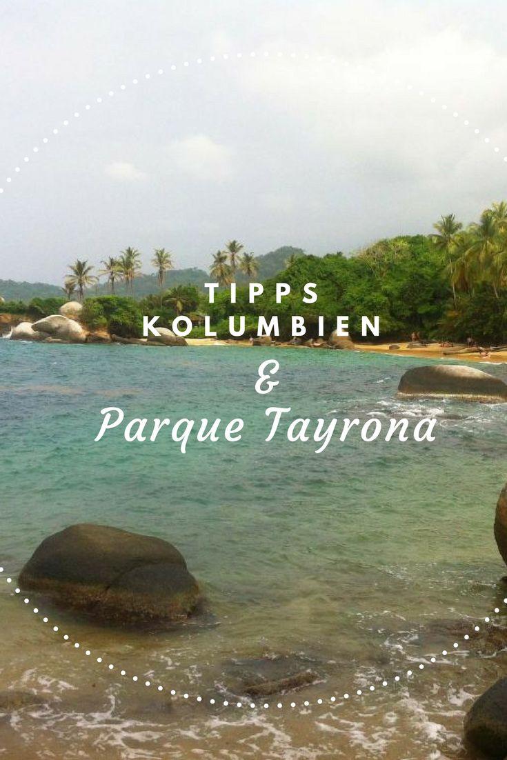 Parque Tayrona, Cabo San Juan in Kolumbien. Dieser Ort ist wie aus dem Robinson Crusoe Roman. Unberührte Natur, hinter Dir der Dschungel, vor Dir das Meer. Einfach traumhaft. Es gibt nur wenige zugängliche Orte auf der Welt, die diese beiden Eigenschaften