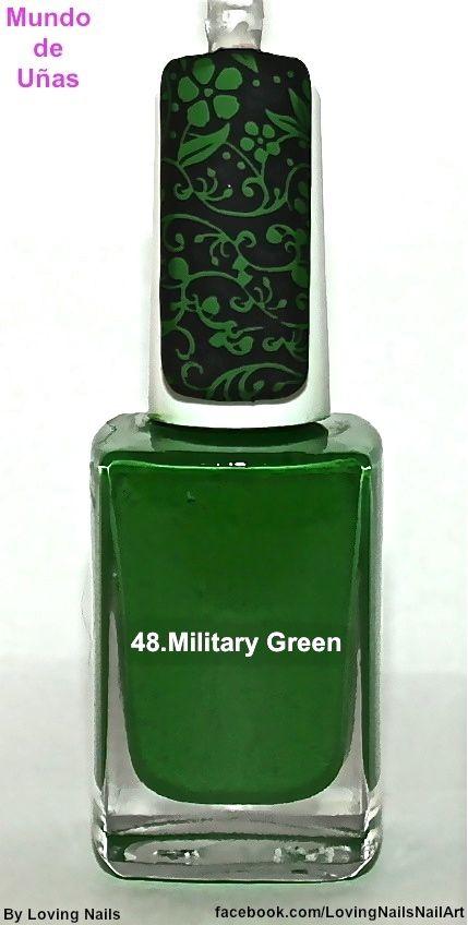 Mundo De Unas - Military Green