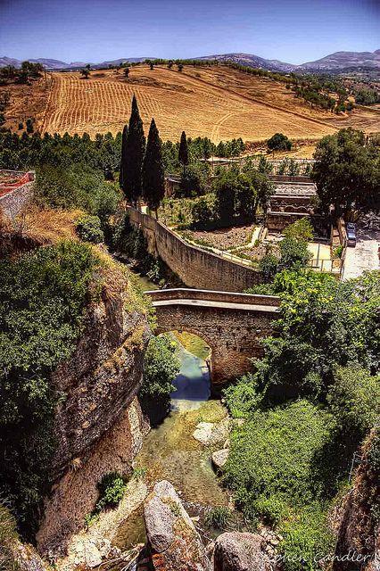 Down The Gorge To Puente Arabe by Light+Shade [spcandler.zenfolio.com], via Flickr