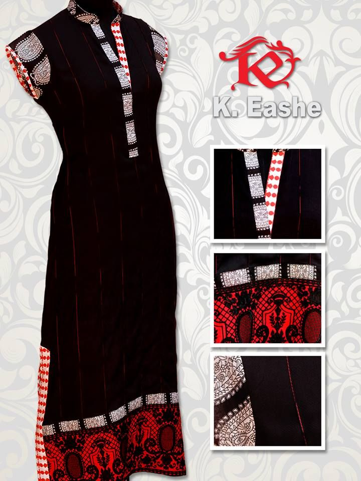 K. Eashe Eid Ul Azha Dresses 2013 For Women 006
