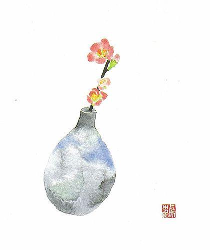 ぼけの花6号