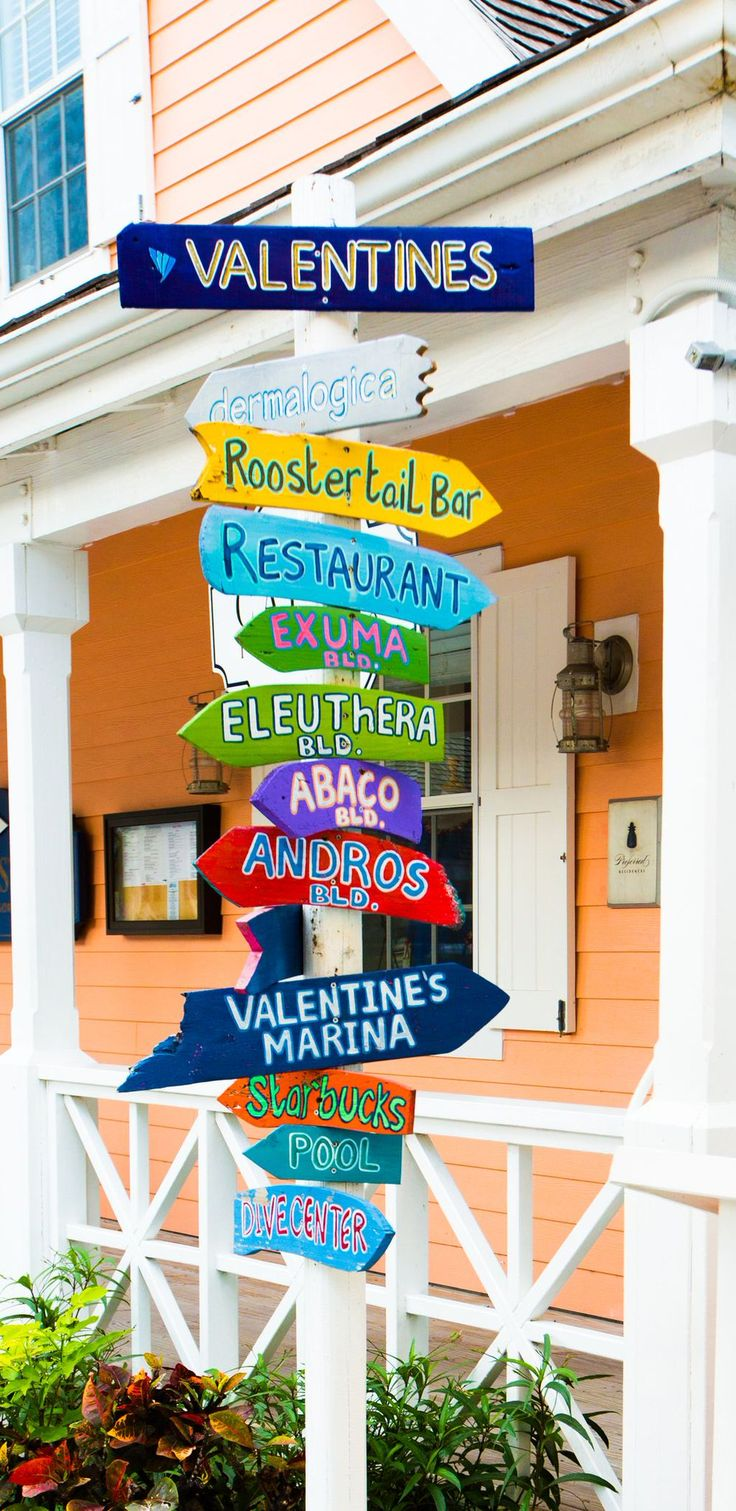 So much to do at Valentines on Harbour Island, Bahamas!
