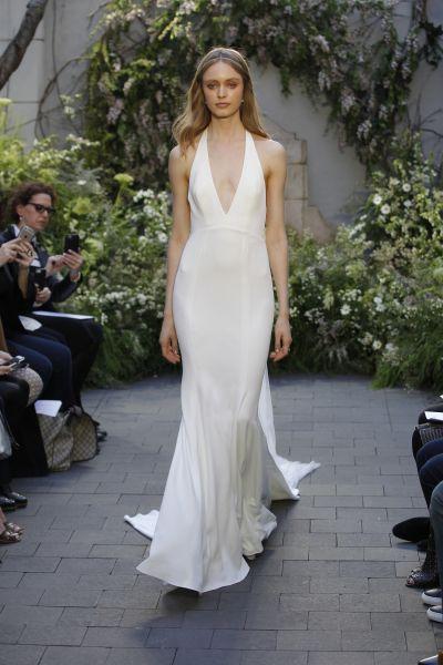 Vestidos de novia para mujeres con mucho pecho 2017: Diseños que te harán lucir fantástica Image: 30