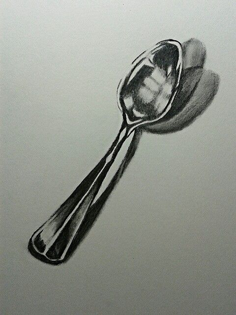 Spoon drawing (by Cari Espinosa)