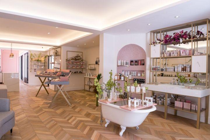 DOMINIQUE MAISON DE BEAUTÉ store by centdegrés, Sao Paulo – Brazil » Retail Design Blog