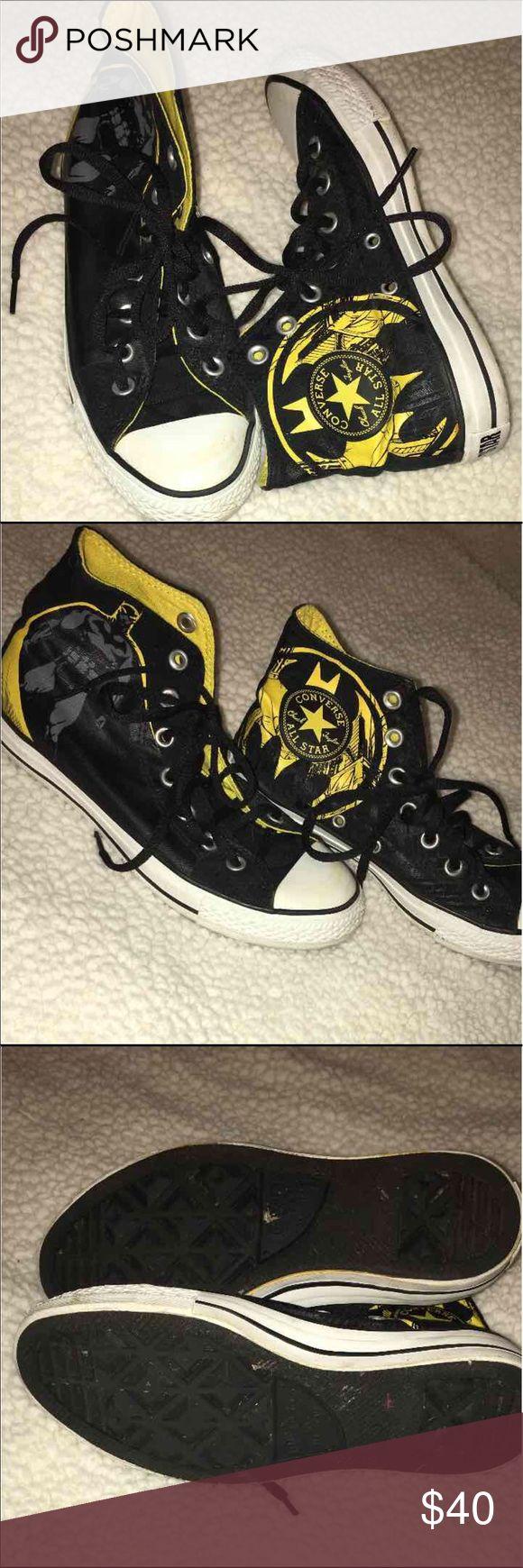 One Hour SALEConverse Batman High~Tops Women's 7 / Men's 6 Converse DC COMICS HIGH TOPS Converse Shoes Sneakers