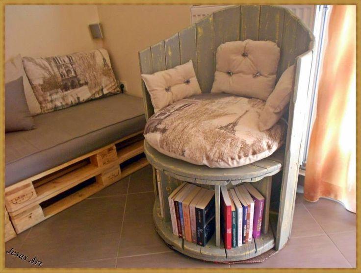 168 best Muebles de palets images on Pinterest | Diy pallet ...