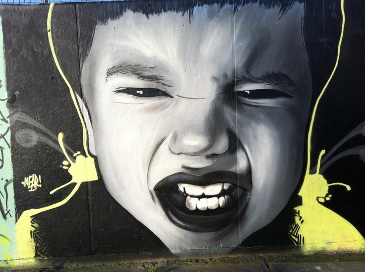 Laakkwartier graffiti wall