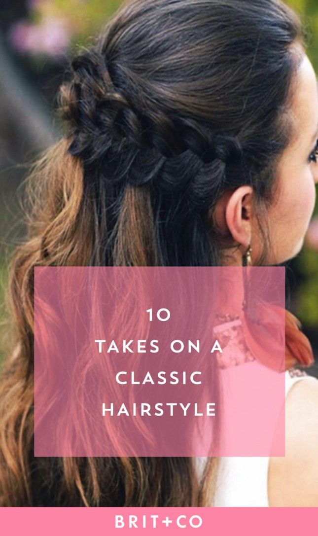 Switch up a classic 'do with these fun looks.
