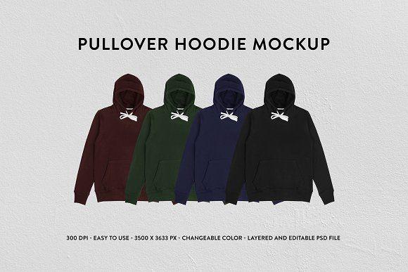 Download Pullover Hoodie Mockup