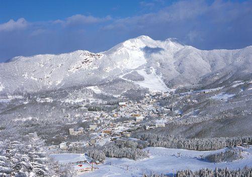 Zao Onsen snow resort