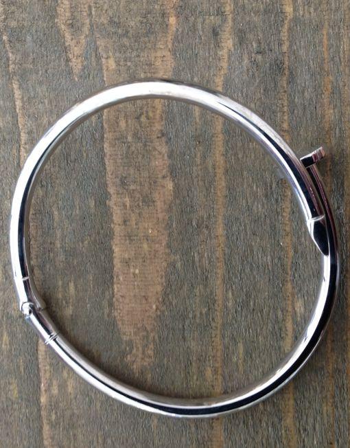 Bracciale #chiodo in argento disponibile nei colori bianco, rosa, giallo