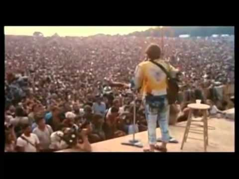"John Sebastian with ""Younger Generation"" from a film about Woodstock 1969 :-)"