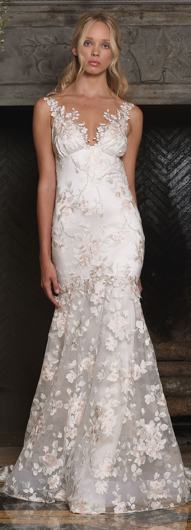 April wedding dress by Claire Pettibone from The Four Seasons couture collection.
