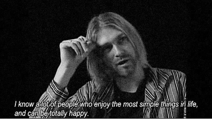 Kurt Cobain #quote