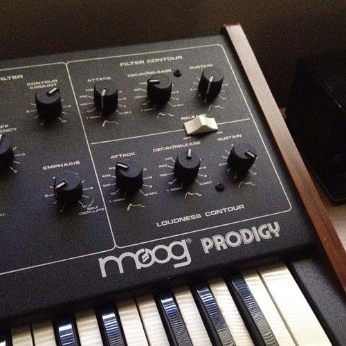 #Moog Prodigy monophonic synth, 1979