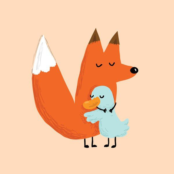 Картинки утка лиса