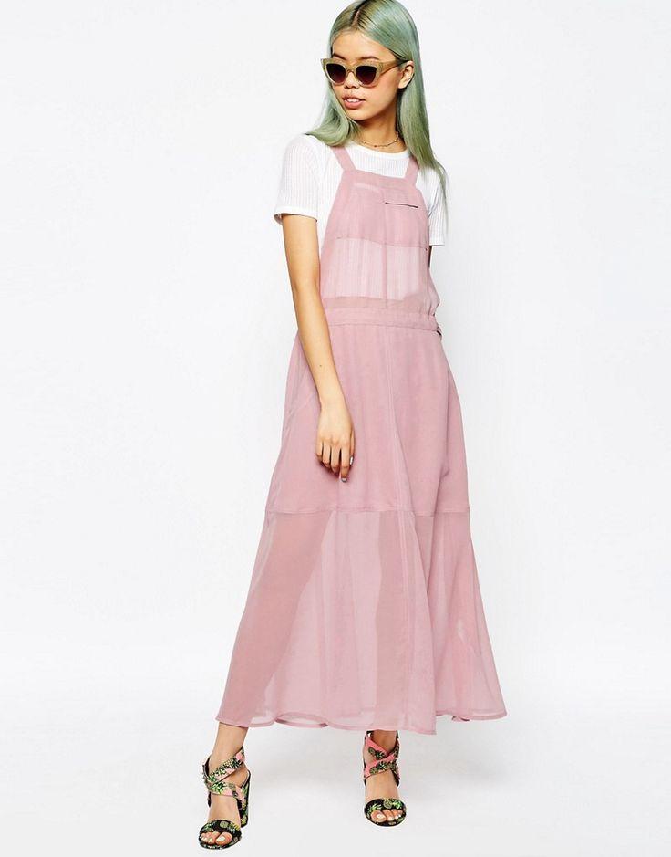 Изображение 4 из Длинное платье‑комбинезон ASOS
