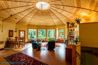 How to Build a Beautiful, Energy Efficient Round Home in the Woods
