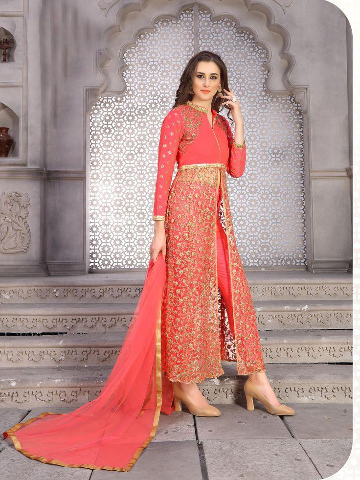 https://flic.kr/s/aHsm2WSuwC   KCRT_1878   Semi-stitched designer bollywood salwar suit